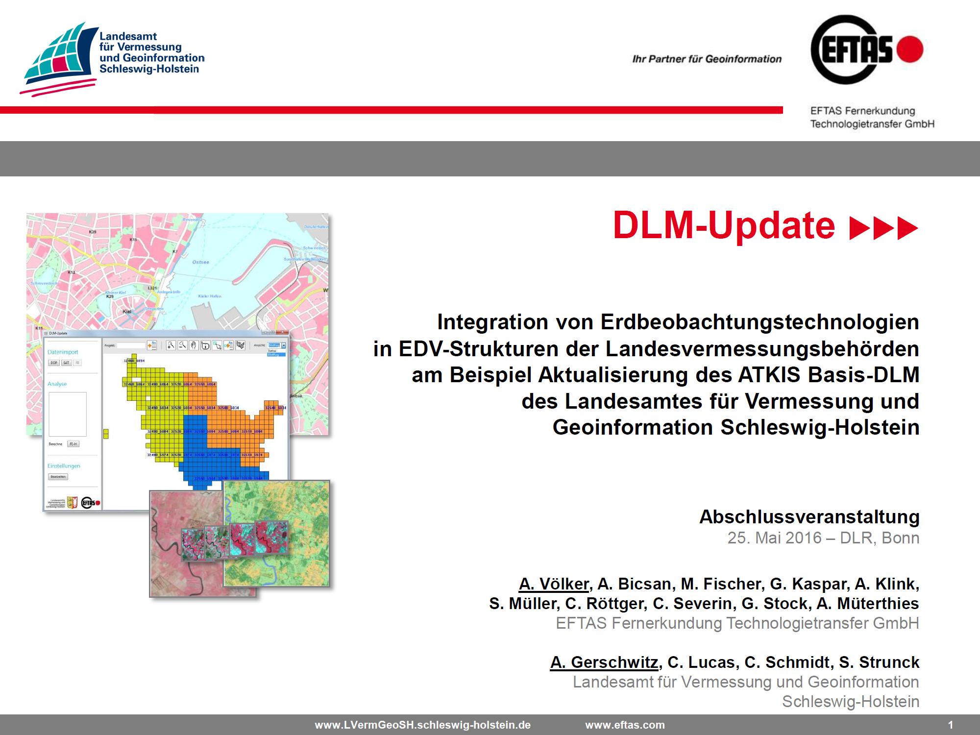 DLM-Update Workshop Bonn 2016
